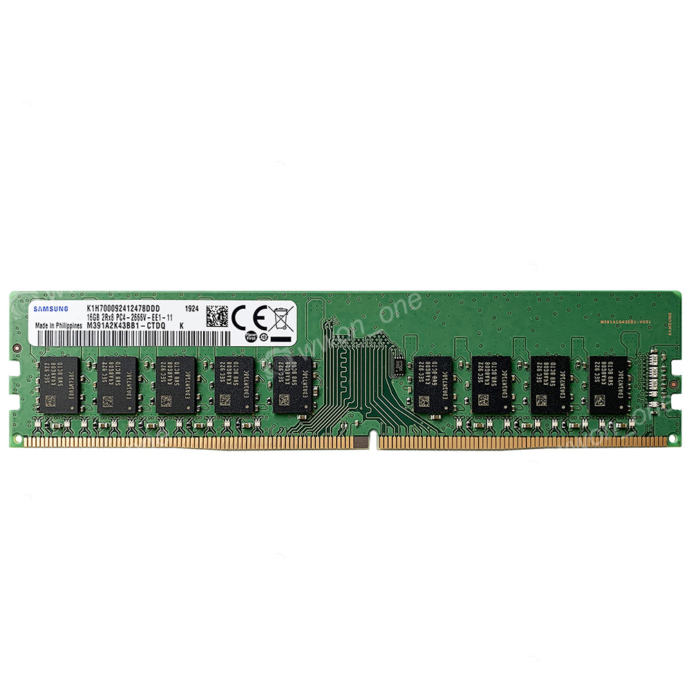 Micron 16GB 1Rx4 PC4-2666V-R DDR4 2666MHz 288Pin LRDIMM ECC Reg Server Memory