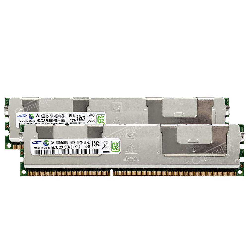 32GB 4X 8GB  PC PC3L DDR DDR3 PC3L-10600R DDR3-1333 10600 1333 240PIN ECC-REG