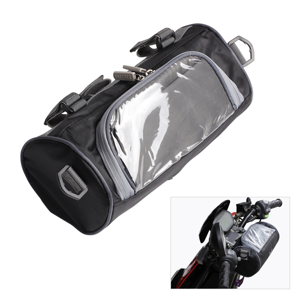 Windshield Bag Motorcycle Front Handlebar Fork Storage Container Car