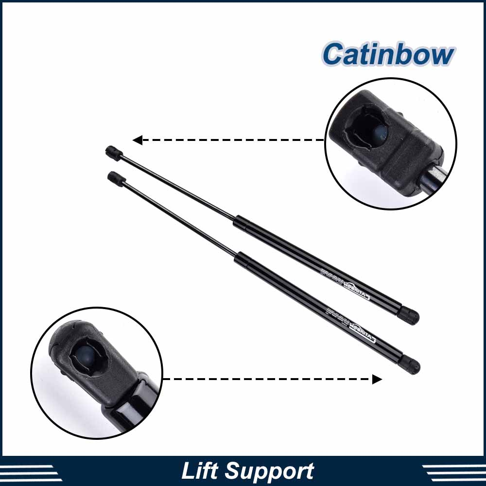 2X Lift Supports Strut Front Hood Shock Springs For 2001