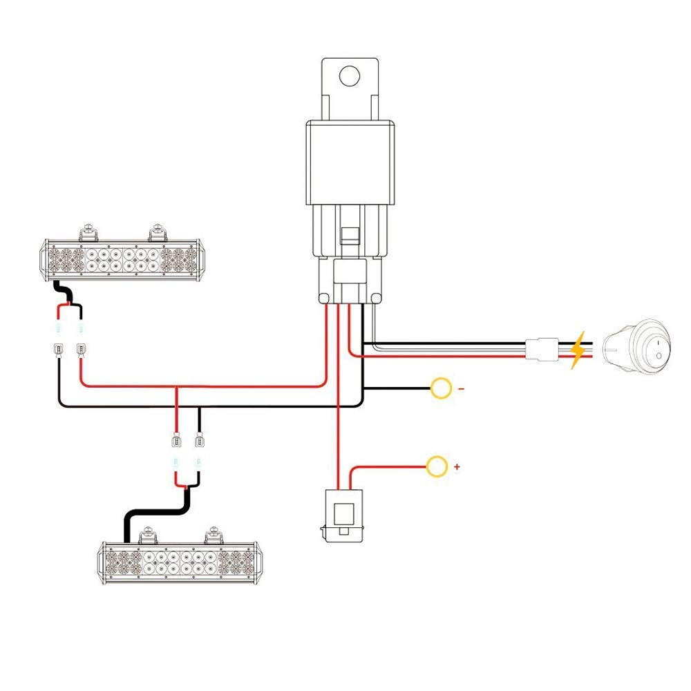 Led Light Bar Relay Wiring Diagram Together With Led Light Bar Wiring