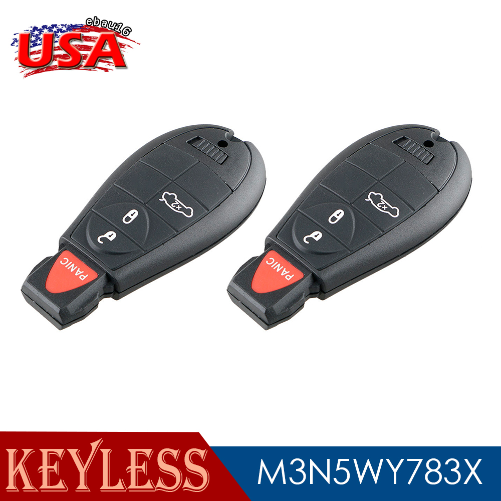 For 2012 Ram 3500 Keyless Replacement Entry Key Fob Remote Transmitter Trunk