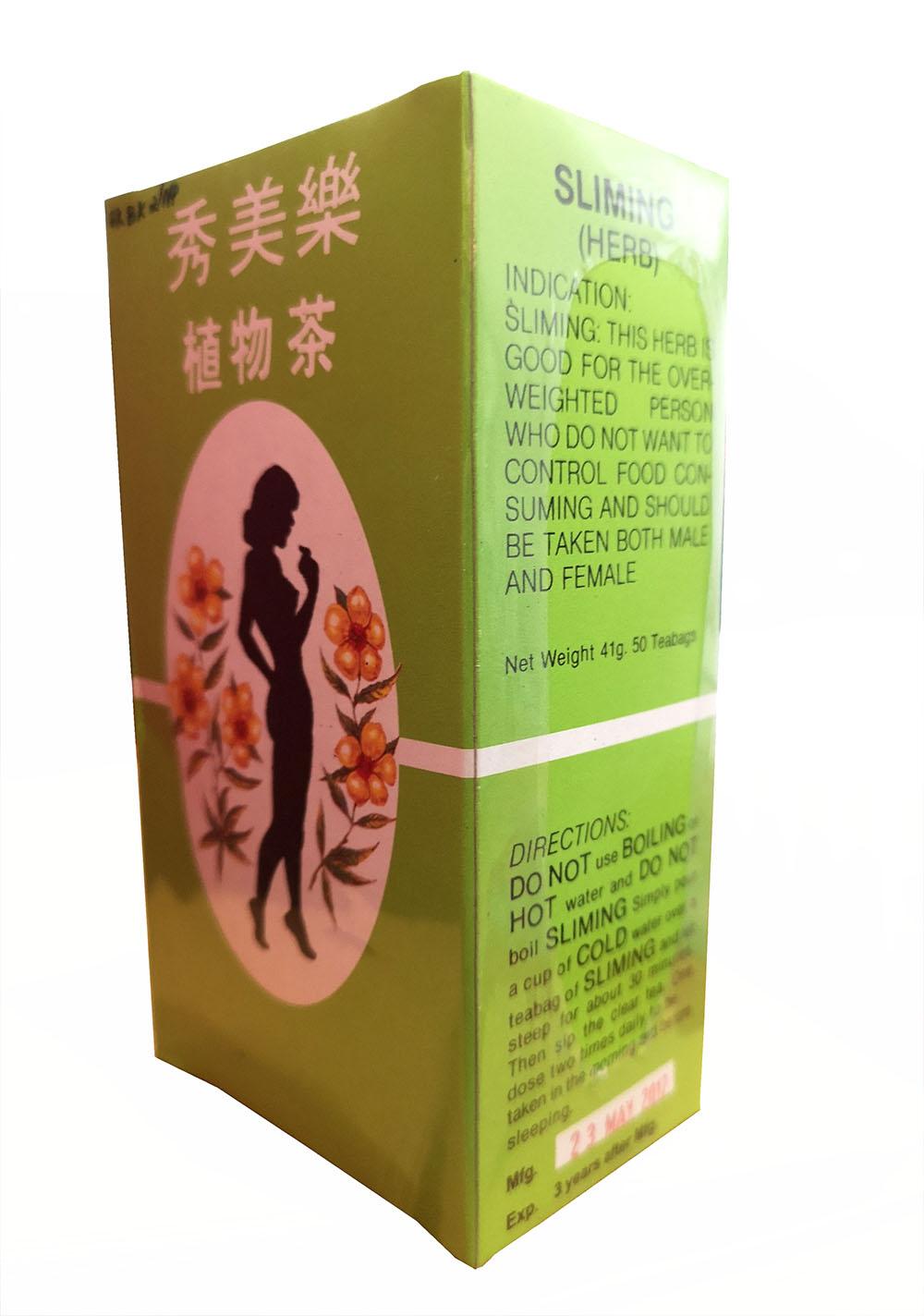 SLIMMING HERB Chinese Green Herbal Tea Burn Diet Detox ...