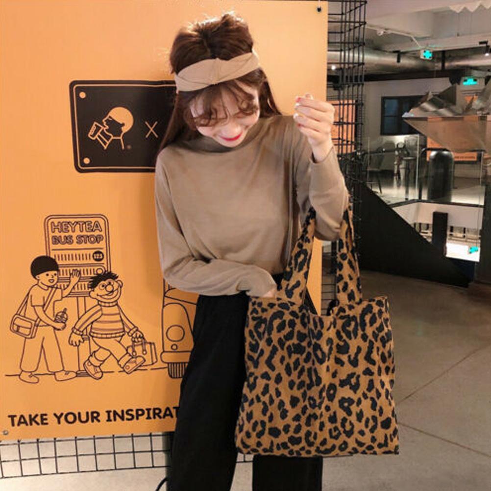 Ping Bag Leopard Print Tote Bags