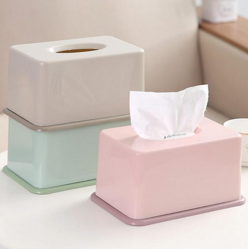 Fabric Multi-function Desktop Tissue Box Cotton And Linen Tissue Holder Cover YI