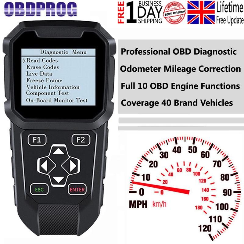 Details about OBDII Mileage Correction Odometer Adjustment Diagnostic Reset  Tool OBDPROG MT401