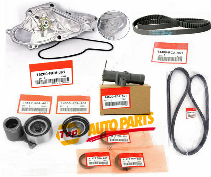 OEM Timing Belt Kit With Water Pump For Honda Acura Accord