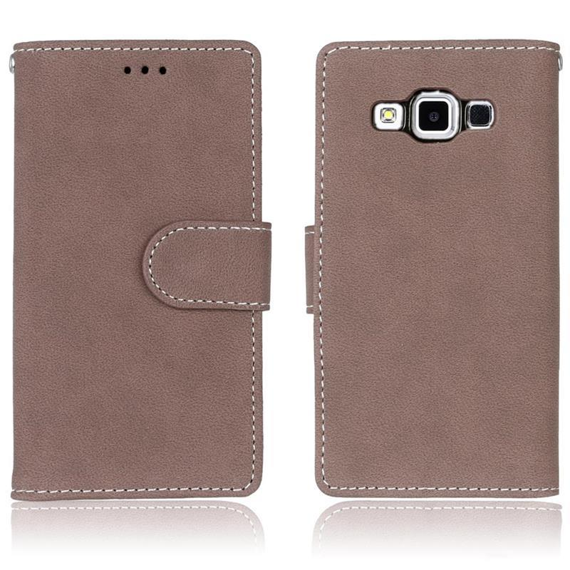 Luxury Leather Flip Case Wallet Style Card Cover Stand For Samsung Galaxy Phone