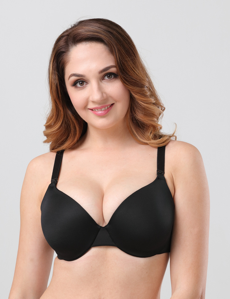 fa488d1fbed7c Womens full cup Maternity seamless underwire Breastfeeding Nursing Bra C~H  cup