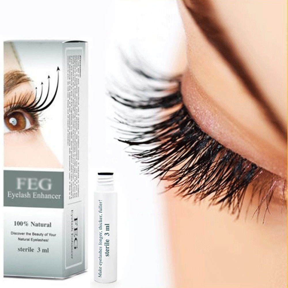 3ml Feg 100 Natural Rapid Eyelash Enhancer Eye Lash Growth Serum