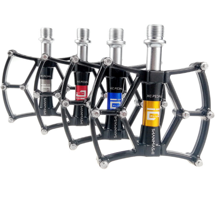 SMS Aluminum MTB Road Bike Pedals Sealed Bearing Widen Pedals Platform 9//16in