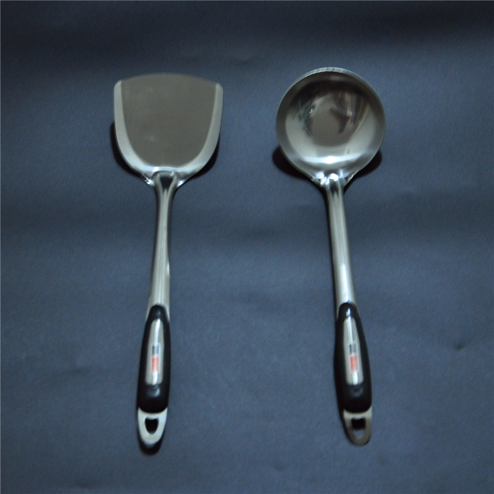 Stainless Steel Soup Ladle Dipper Spatula Rice kitchen Tool Home ...