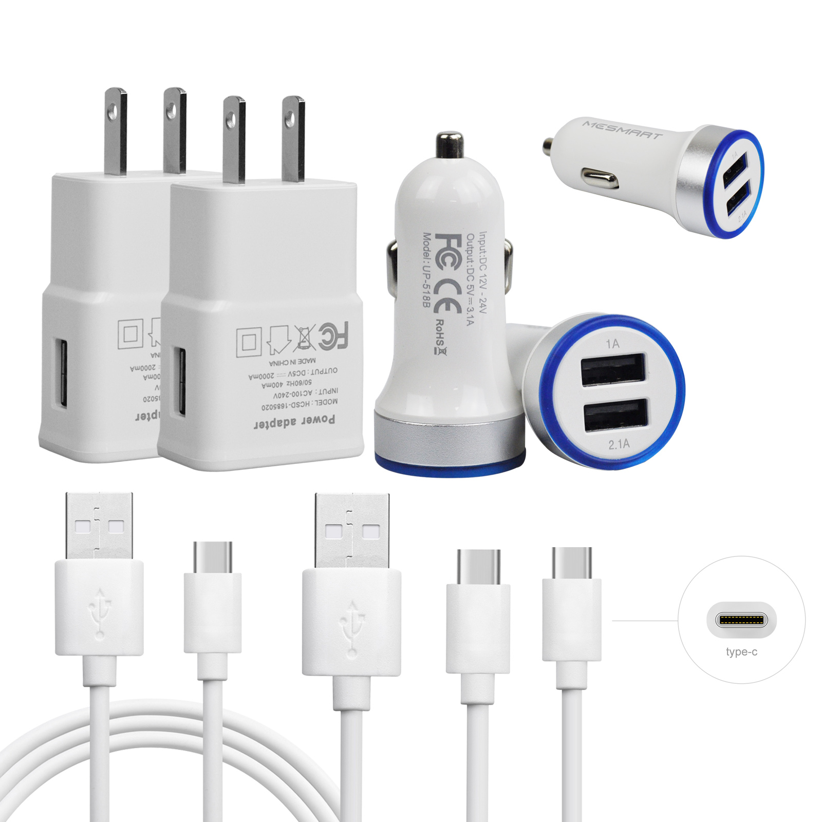 a775d0cff93b83 Details about Fast Cell Phone Car Wall Charger for LG G7 ThinQ Stylo 4 V30  Google Pixel 2 3 XL