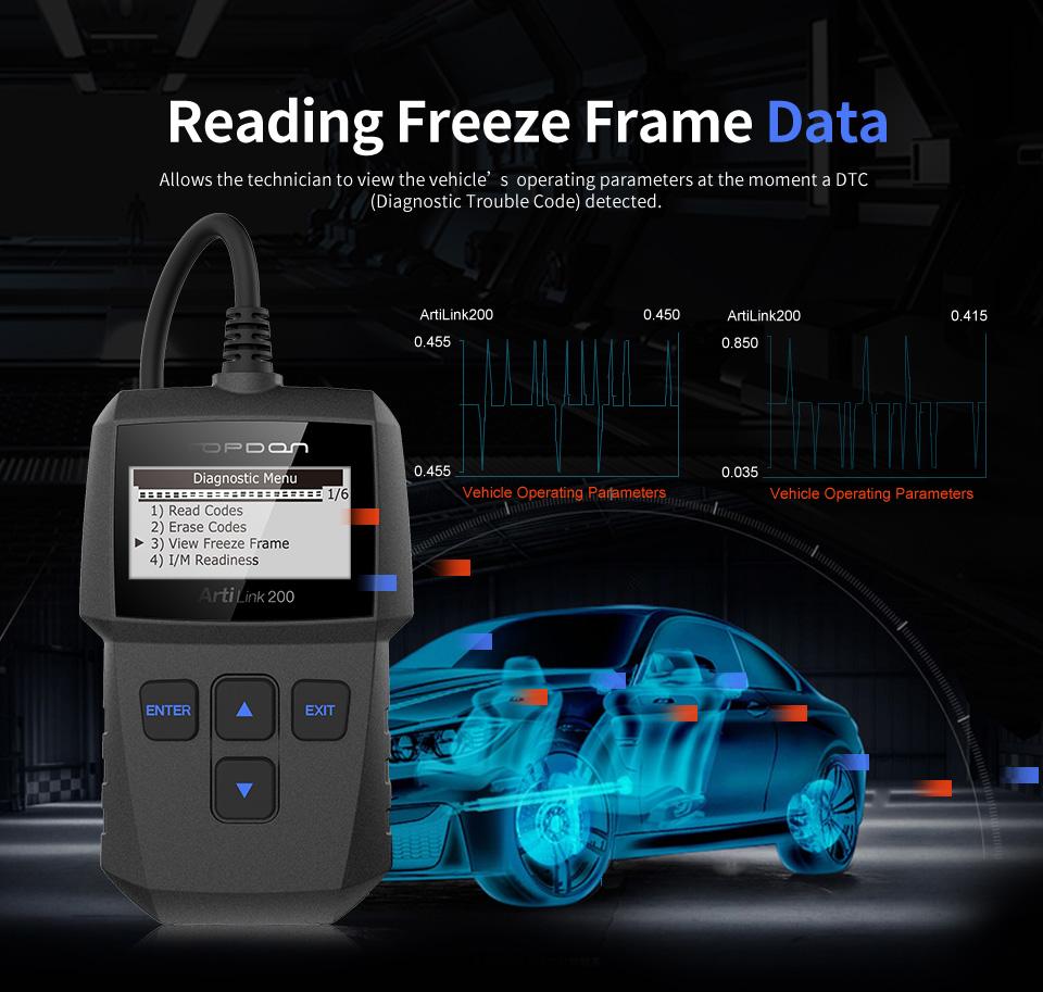 topdon profi obd2 kfz auto diagnoseger t scanner can bus. Black Bedroom Furniture Sets. Home Design Ideas