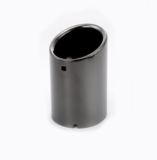 1pcs black titanium rear exhaust muffler tip end pipe for