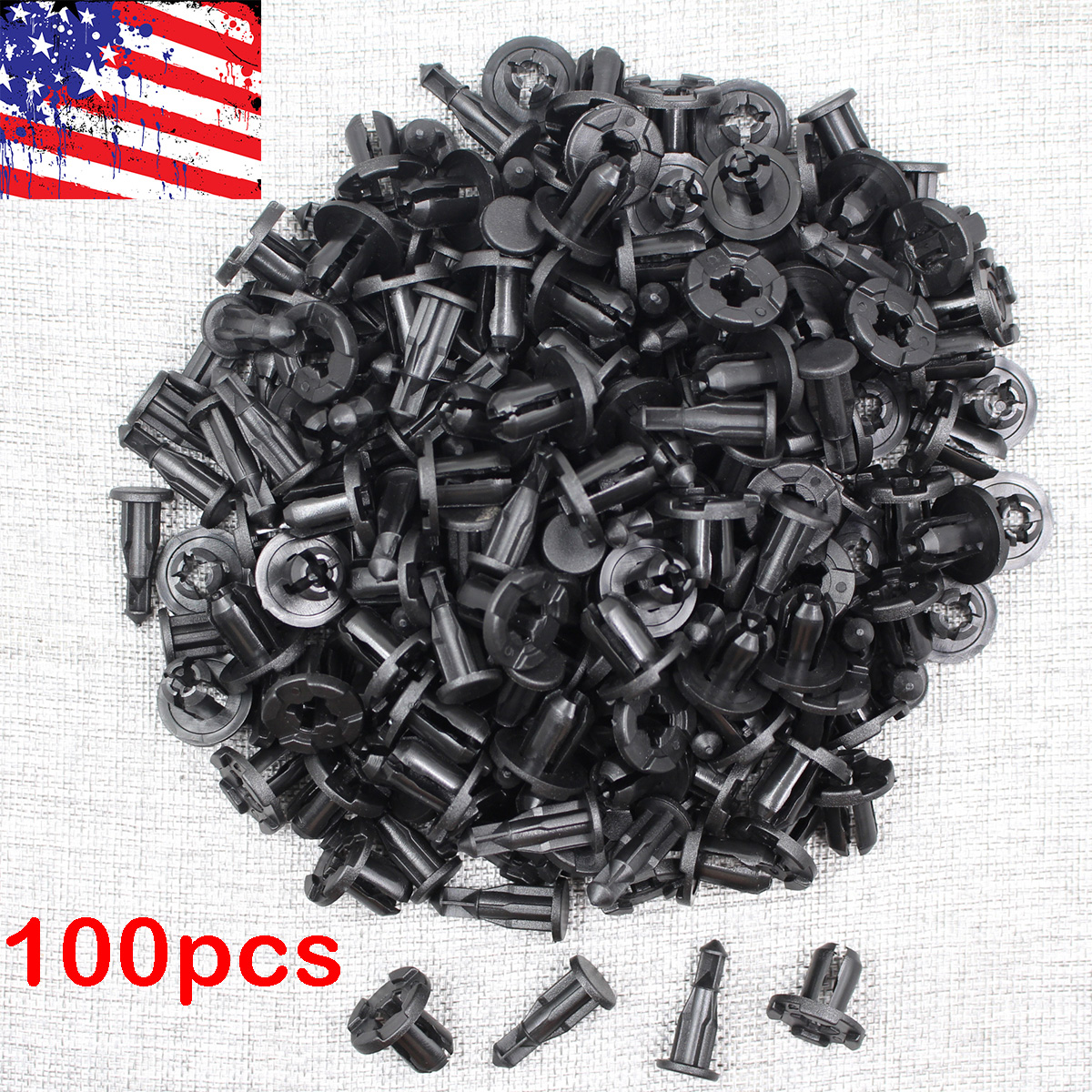 30 Bumper Engine Cover Fender Grille Clip Push Type Retainer For Subaru Impreza