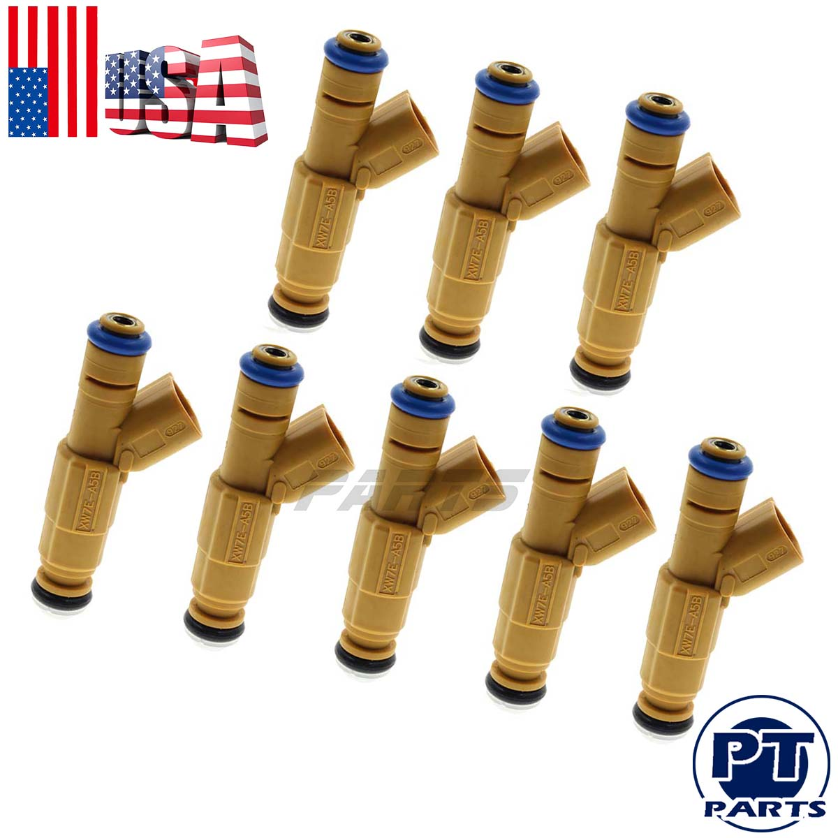 8 GENUINE OEM BOSCH FUEL INJECTORS 0280155857 1999-2001 FORD LINCOLN MERC 4.6 V8