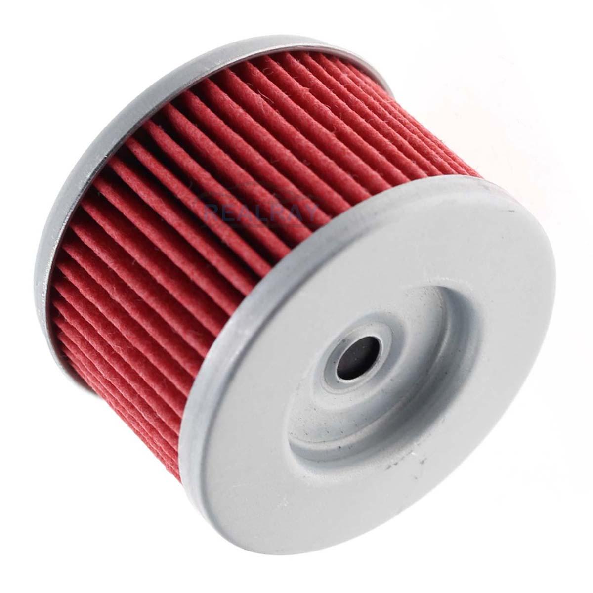 5pcs New Oil Filter For Big Red Foreman FourTrax Rancher Sportrax TRX 2x4 4x4