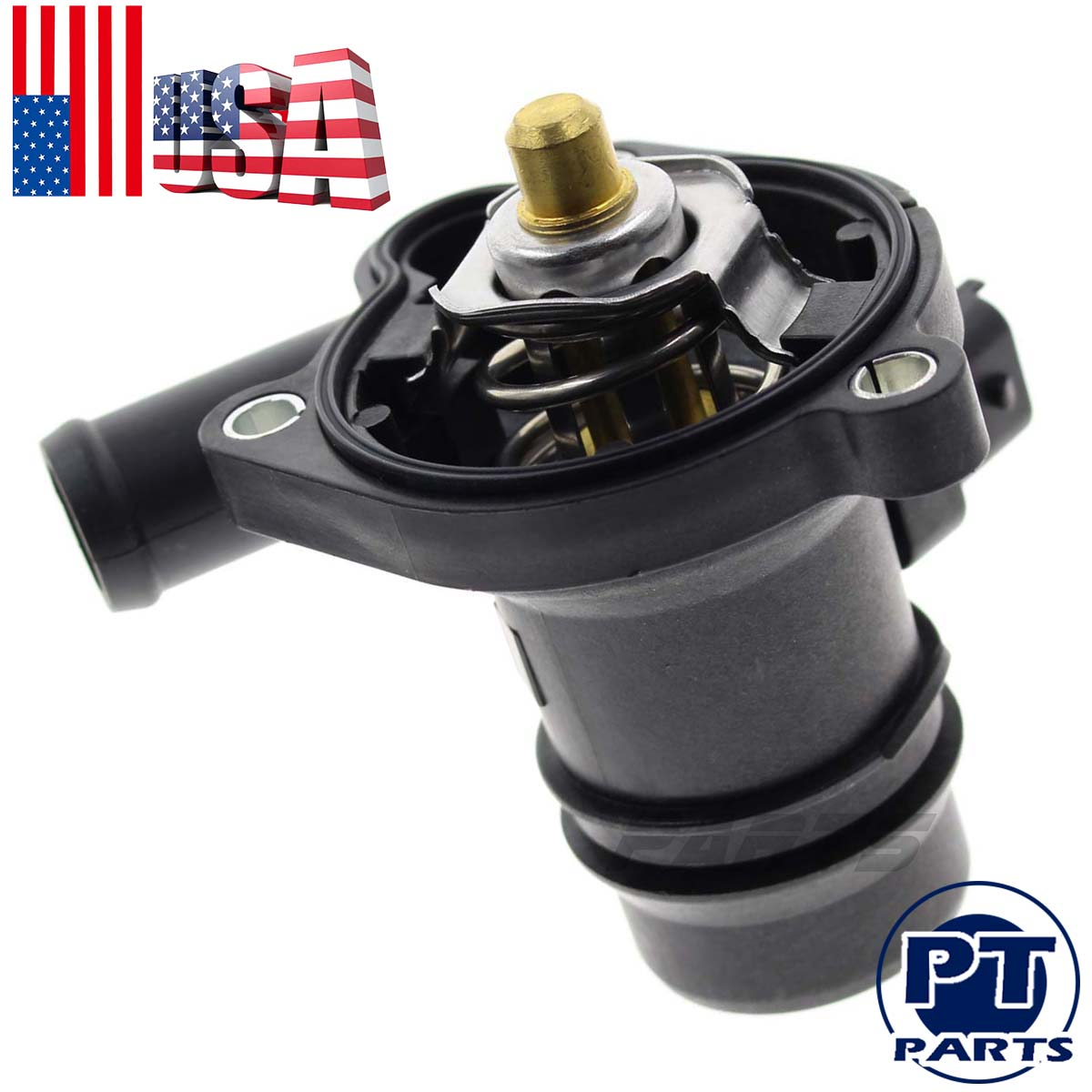 Engine Coolant Thermostat /&Housing Assembly W//Water Inlet for Sonic Cruze Encore