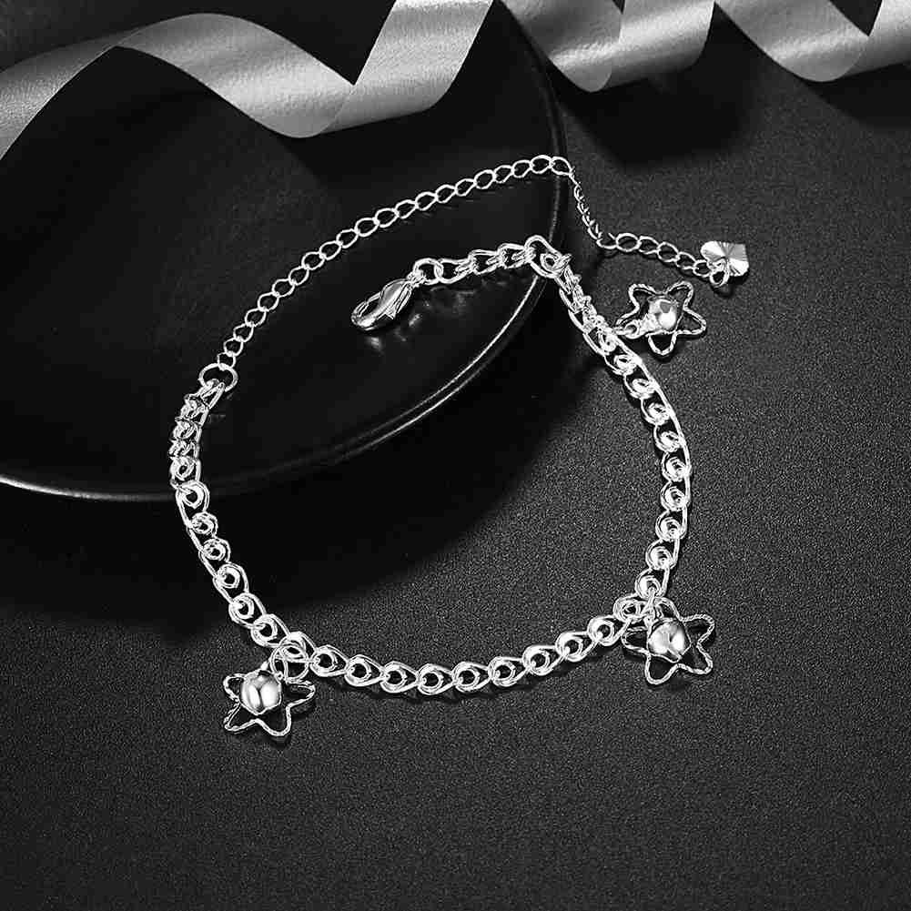 A105 10 silver plated metal drop charms