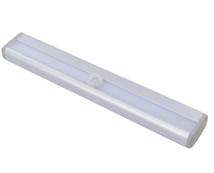 led schranklampe nachtlicht mit bewegungsmelder sensor unterbauleuchte batterie ebay. Black Bedroom Furniture Sets. Home Design Ideas