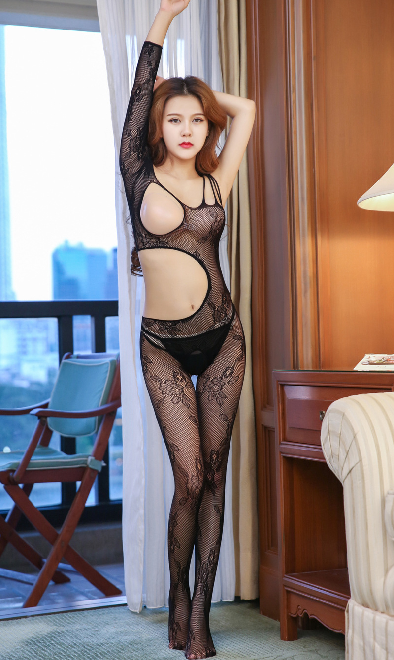 Details About Bodysuit Women Sheath Sexy Lingerie Sexy Catsuit Stocking Porn Lingerie Net Sock