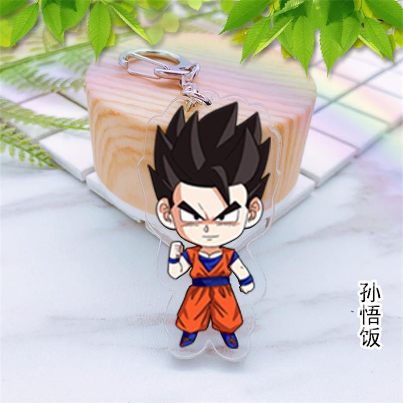 Hot Anime Dragon Ball Z Frieza Acrylic Key Ring Pendant Key chain Gift
