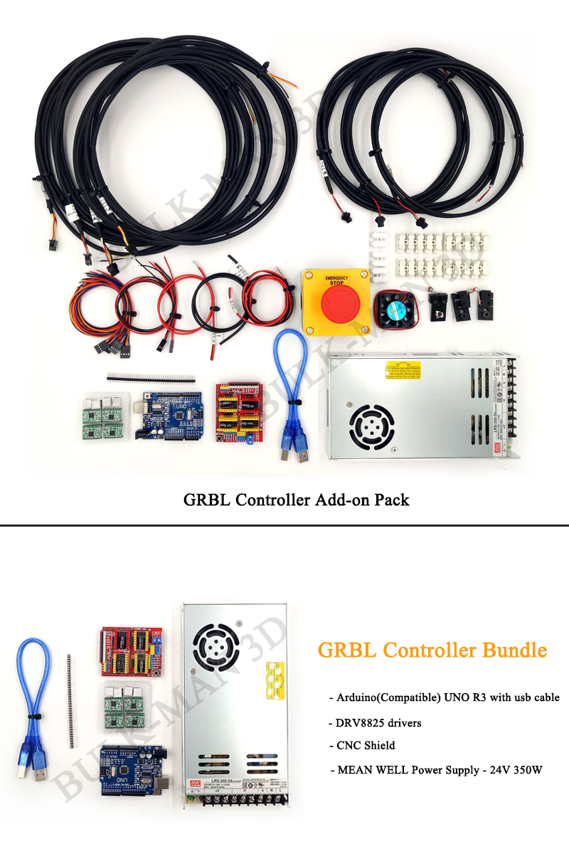 Details about UNO R3 with CNC Shield V3 GRBL Controller Set -Large for CNC  Engraving Machine