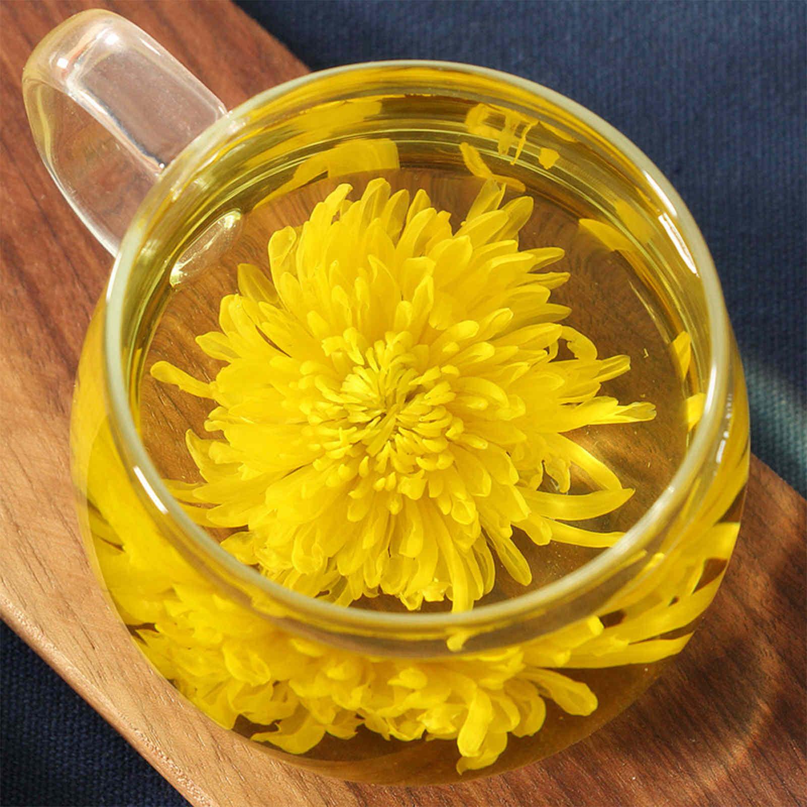 Complete golden chrysanthemum flower tea big blooming dry giant complete golden chrysanthemum flower tea big blooming dry giant blossom bagged mightylinksfo