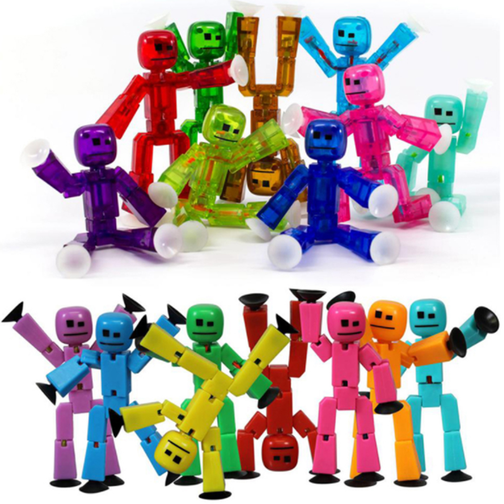 Zing Stikbot Action Figure FREE SHIP CHOOSE COLOR Ships from US!