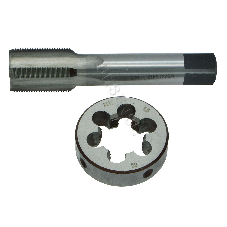 New 1pc HSS M34 x 1mm Tap /& M34 x 1mm Die Metric Thread Right Hand