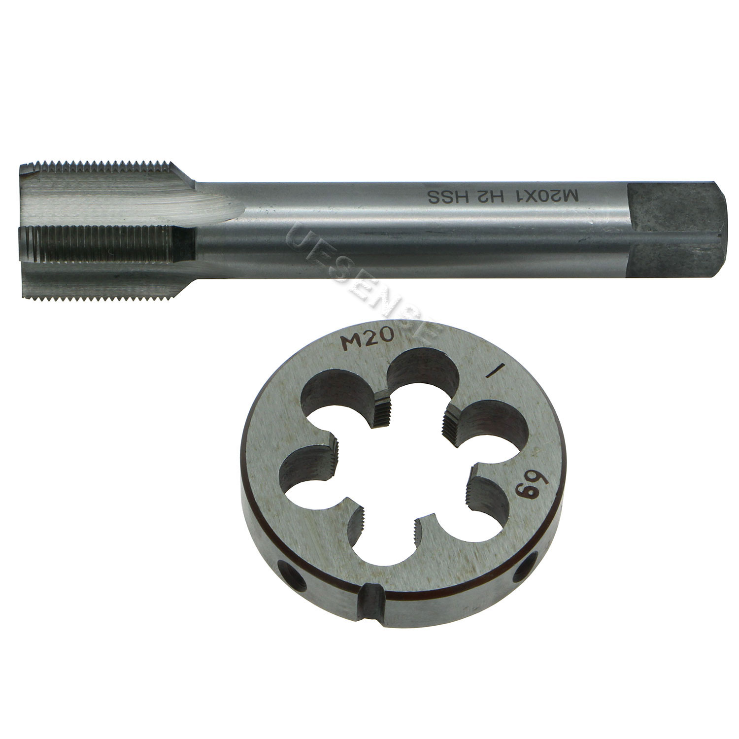 New 1pc Metric Right Hand Tap M20X2.0mm Taps Threading Tools M20 x 2 mm