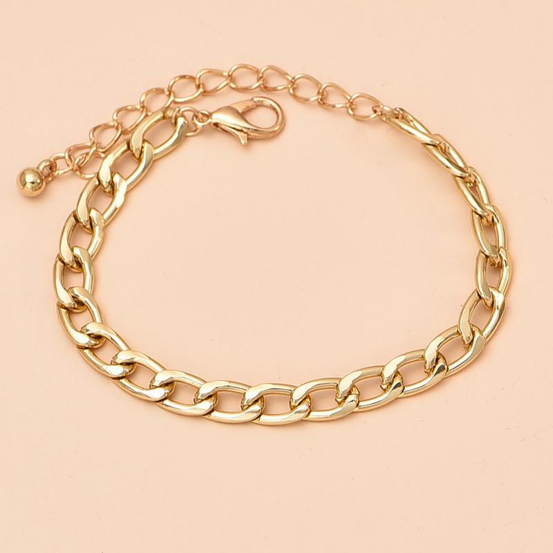 Vintage Retro Women Egyptian Pharaoh/'s Portrait Chain Bangle Bracelet Jewelry