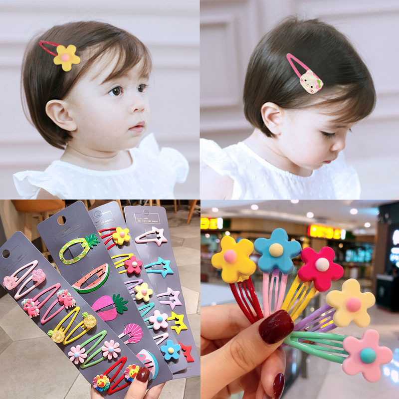 10pcs Fruit style Kids Baby Girls hair accessories Hair clips hairpins children