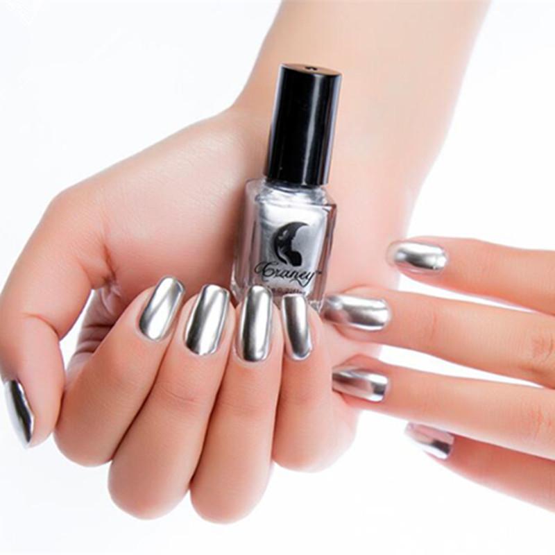 NEW Metallic Nail Polish Magic Mirror Effect Chrome Nail Art DIY ...