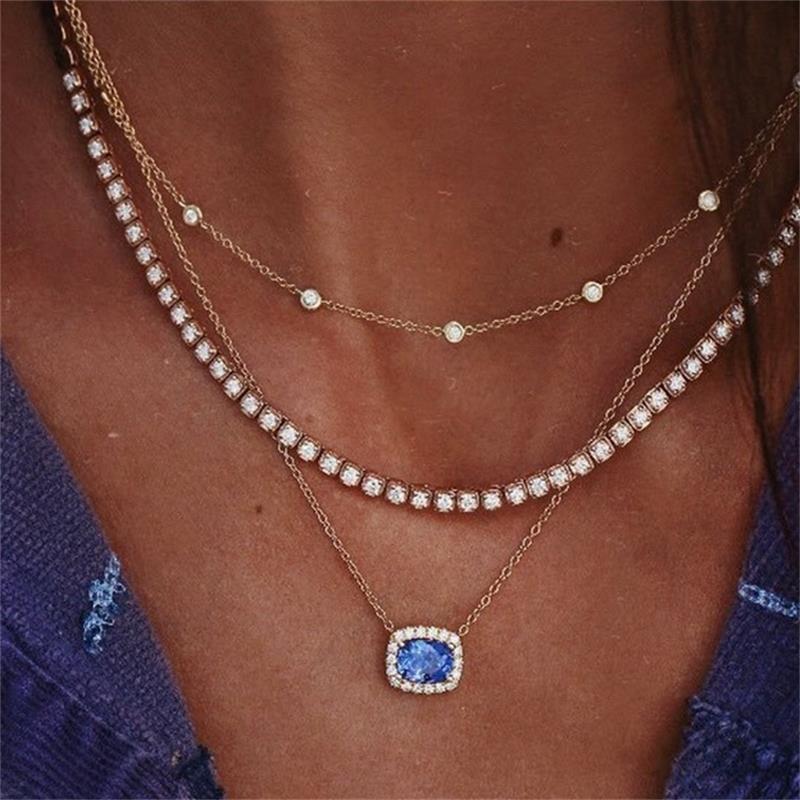 Woman Boho Bid Pendant Charm Jewelry Necklace Gift Wide Choker