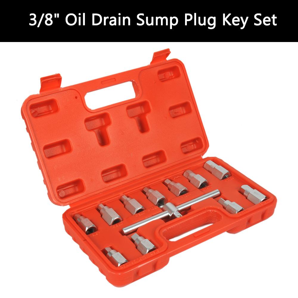 3 8 Oil Drain Sump Plug Key Socket Set Axel Removal