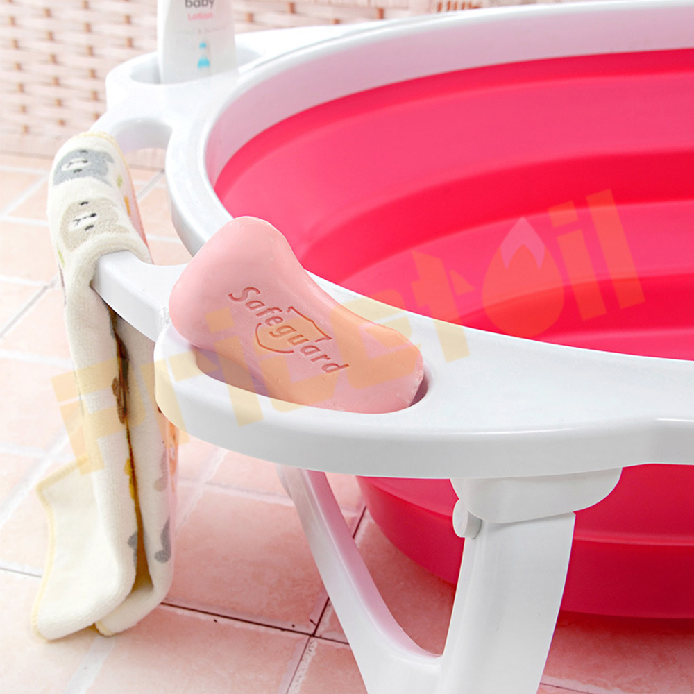 OZ-Baby-Infant-Newborn-Bath-Bathtub-Bathing-Folding-Safety-Foldable-Tub-Durable miniature 20