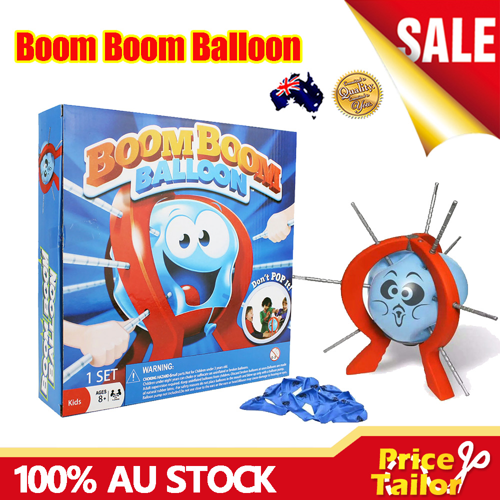 Oz Boom Boom Balloon Party Game Adults Kids Toy Family Fun Board Game Xmas Gift Ebay