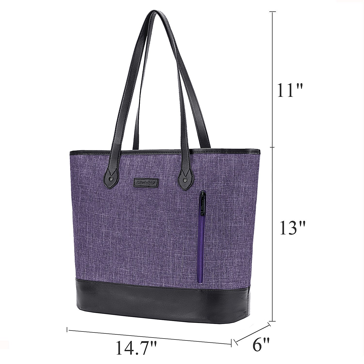 251cf66c396 Details about Womens Business Work Tote Lightweight Shoulder Bag 15.6 Inch  Laptop Briefcase