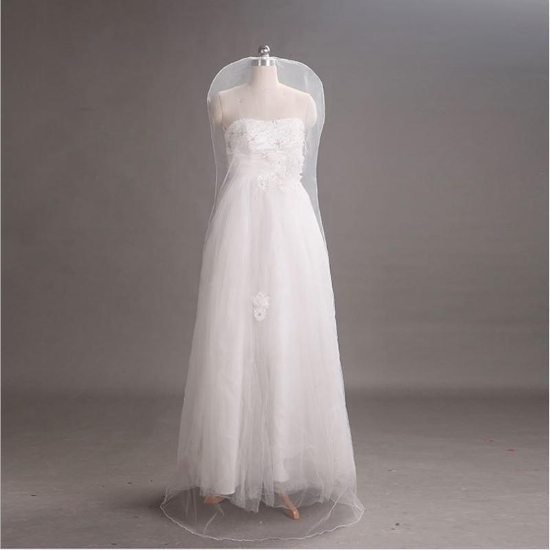 Large Bridal Gown Wedding Dress Storage Bag Breathable Garment Dust ...