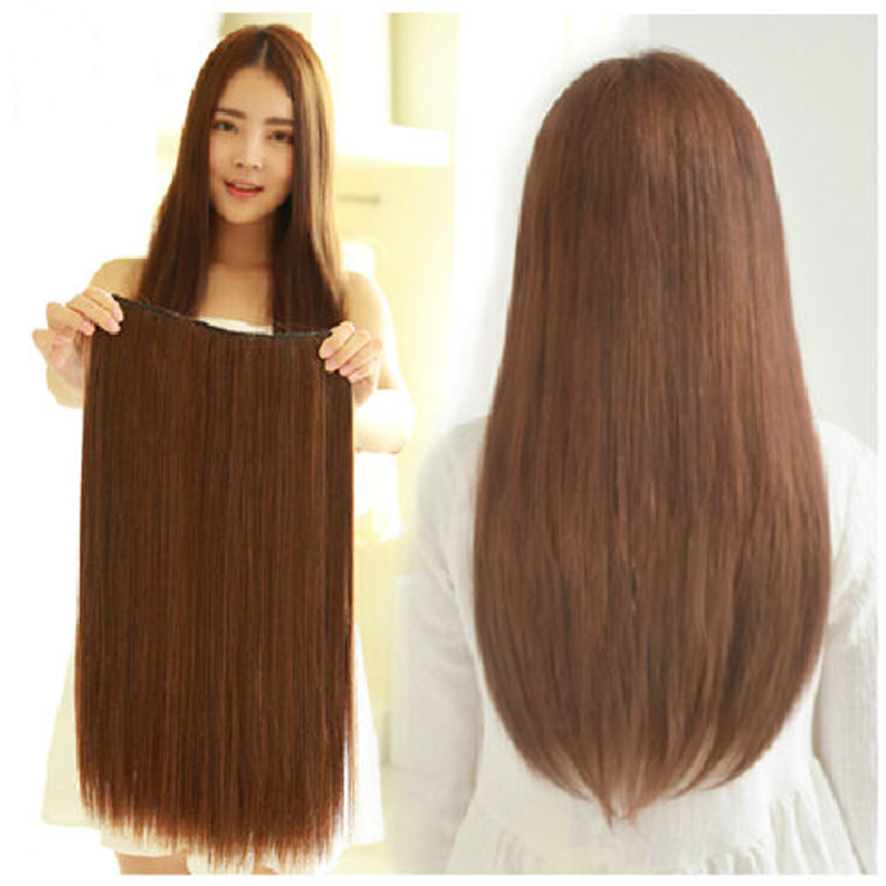 New 16 30 Onepiece 100 Remy Human Hair Extensions Straight 24
