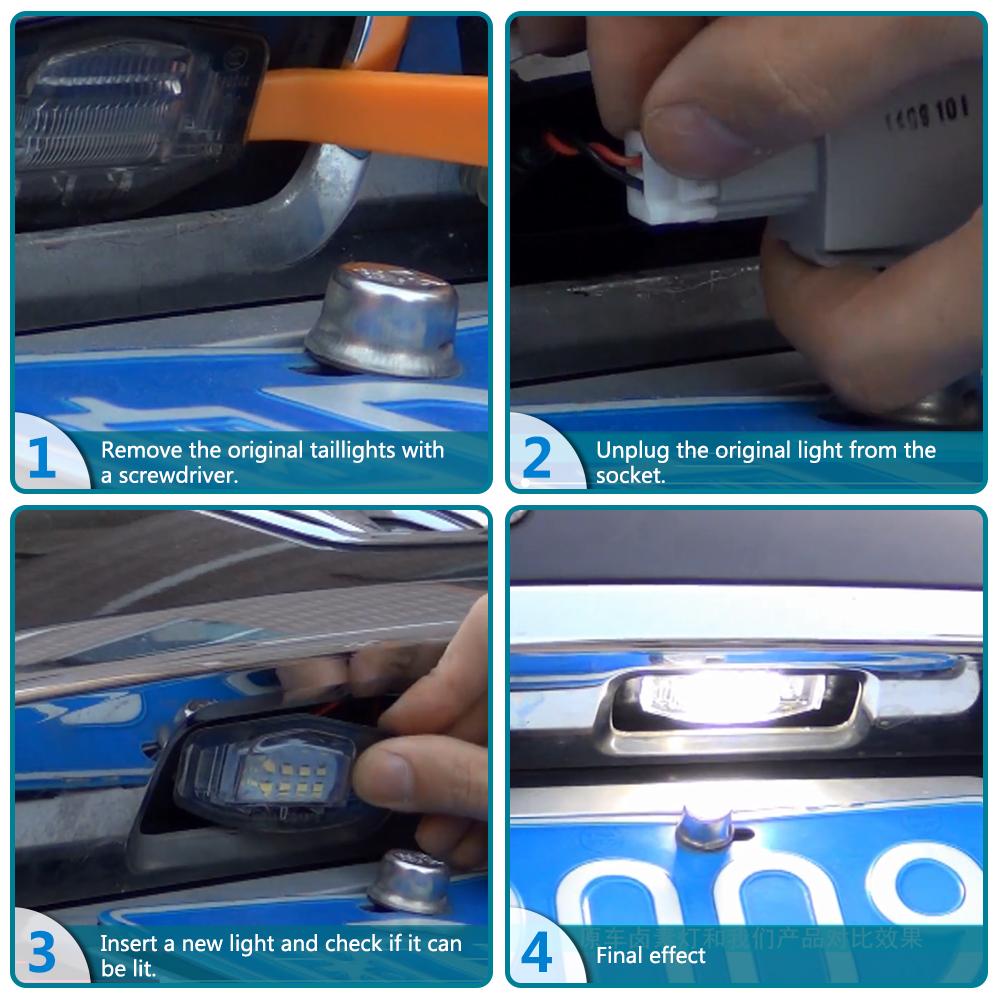 For Honda Civic Accord Odyssey Acura MDX Vehicles License