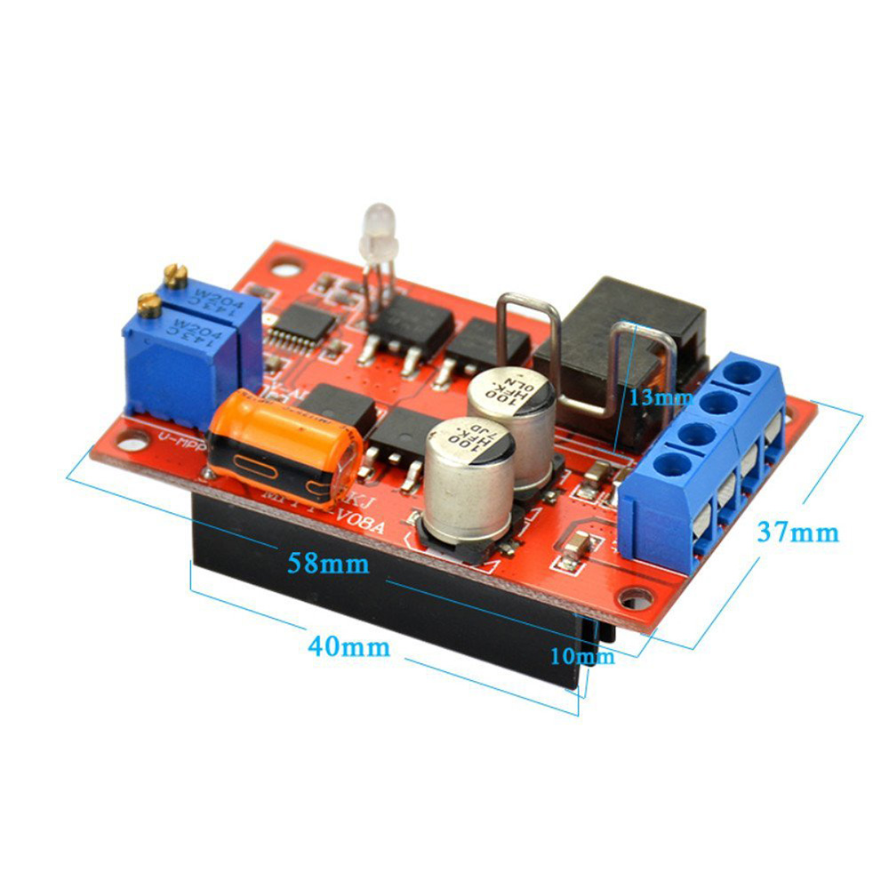 Adjustable Mppt Voltage Solar Panel Controller Battery Charging Charger Circuit Besides Charge Board 9v 12v 24v