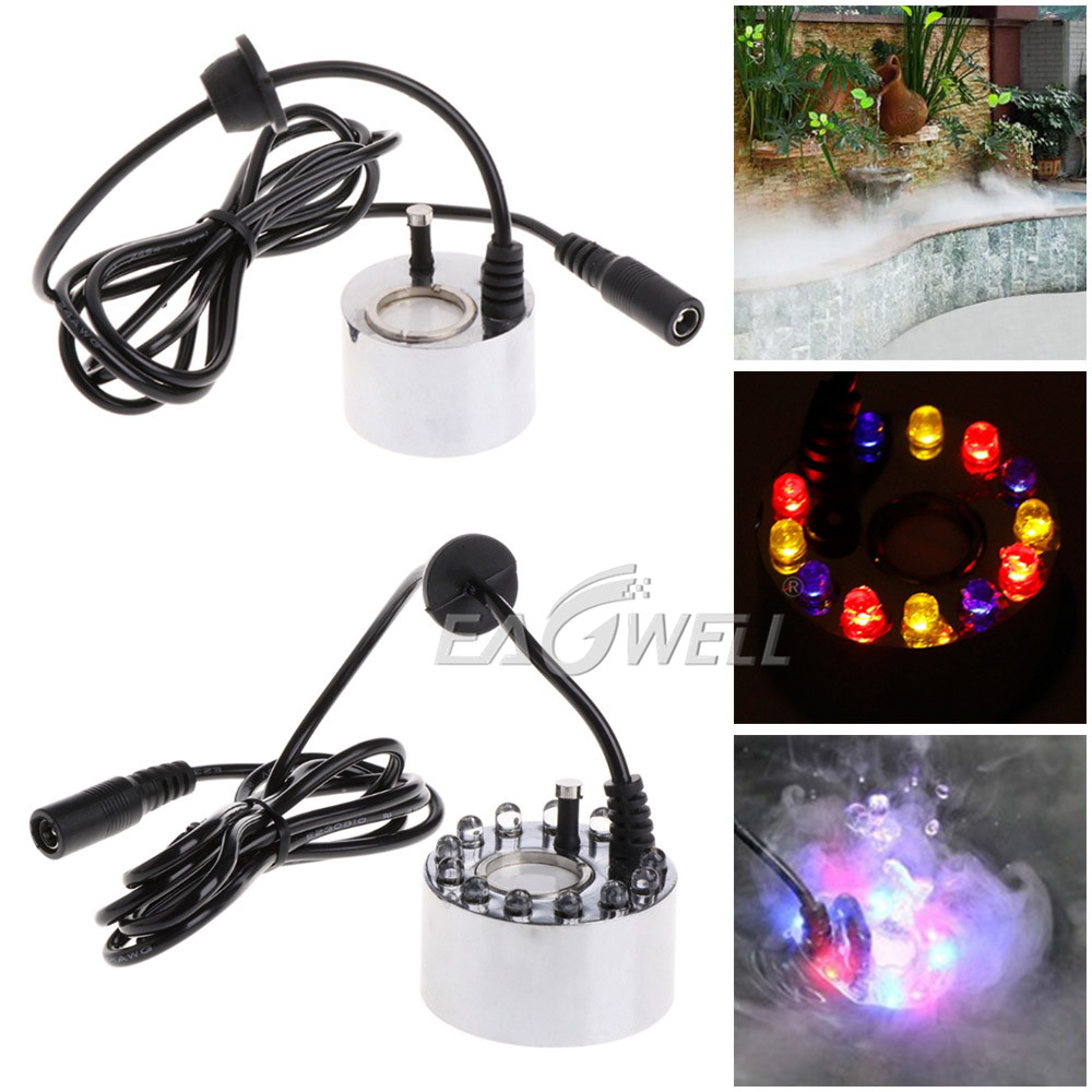 Ultrasonic Mist Maker Fogger Water Fountain Pond Atomizer Air Humidifier No Led/'