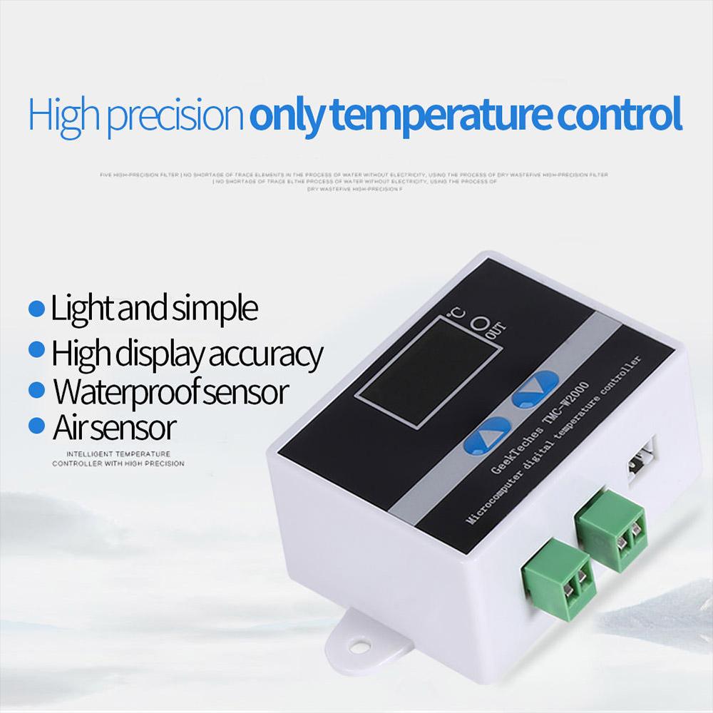 Newest 12v 110v 220v Digital Led Thermostat Temperature Controller Stc1000 Microcomputer W Sensor Switch