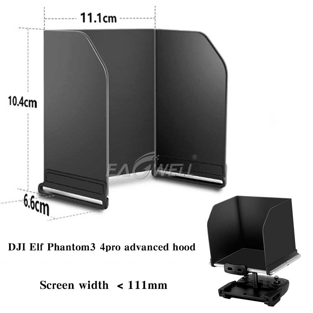 Details about Foldable Phone Screen Sun Shade Cover Hood For DJI Phantom 3  4 MAVIC PRO SAPRK