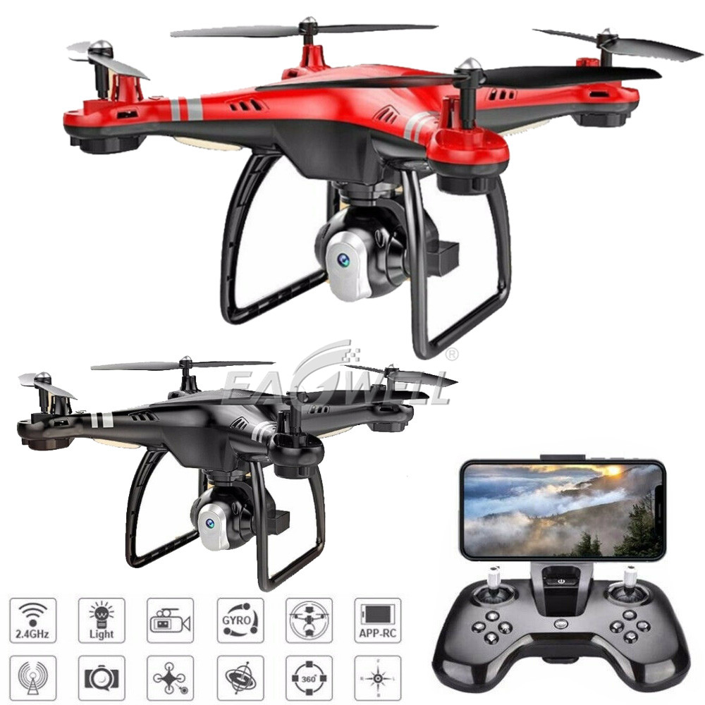 Details about 720P X8HG 2 4G 4CH 6-Axis Gyro RC Quadcopter Drone Kits With  HD Camera RTF Gift