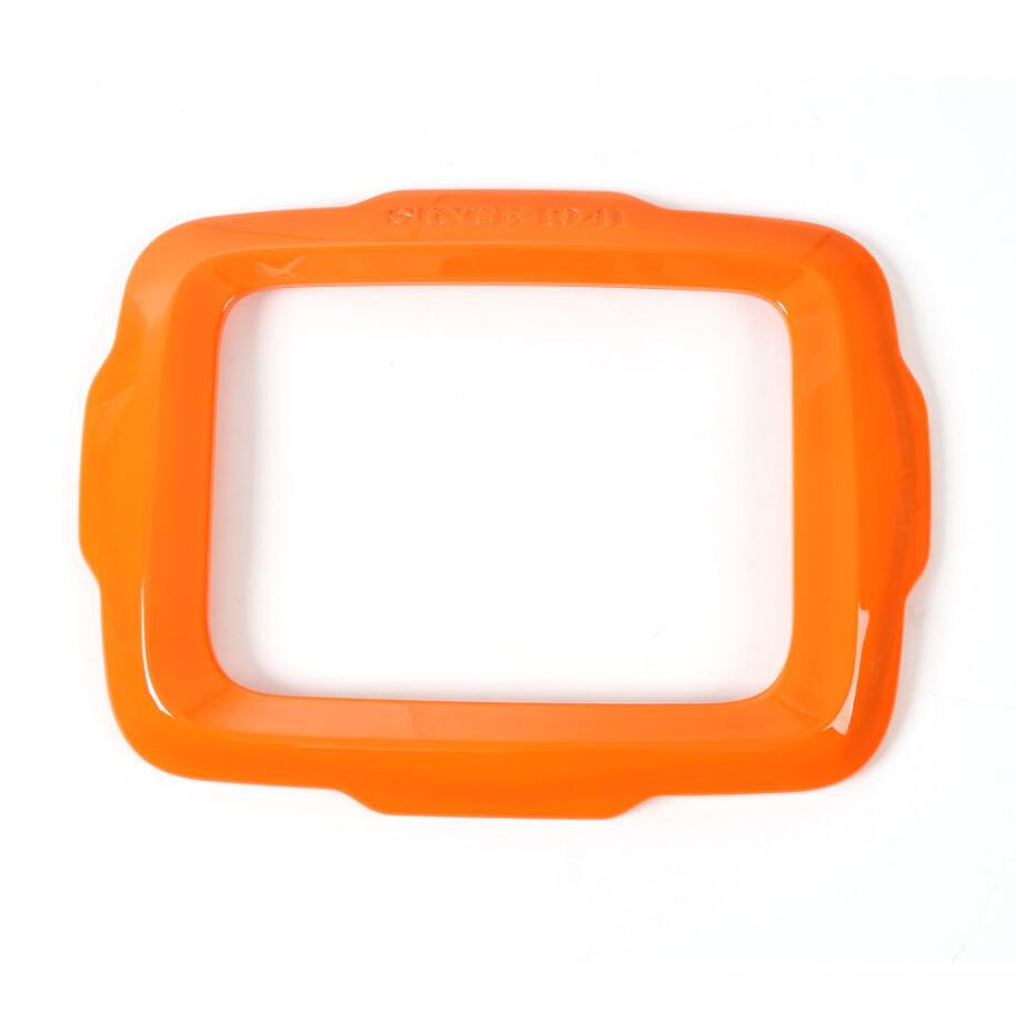 For Renegade 2015-2018 ABS Auto Interior Dashboard Navigation Frame Trim Orange