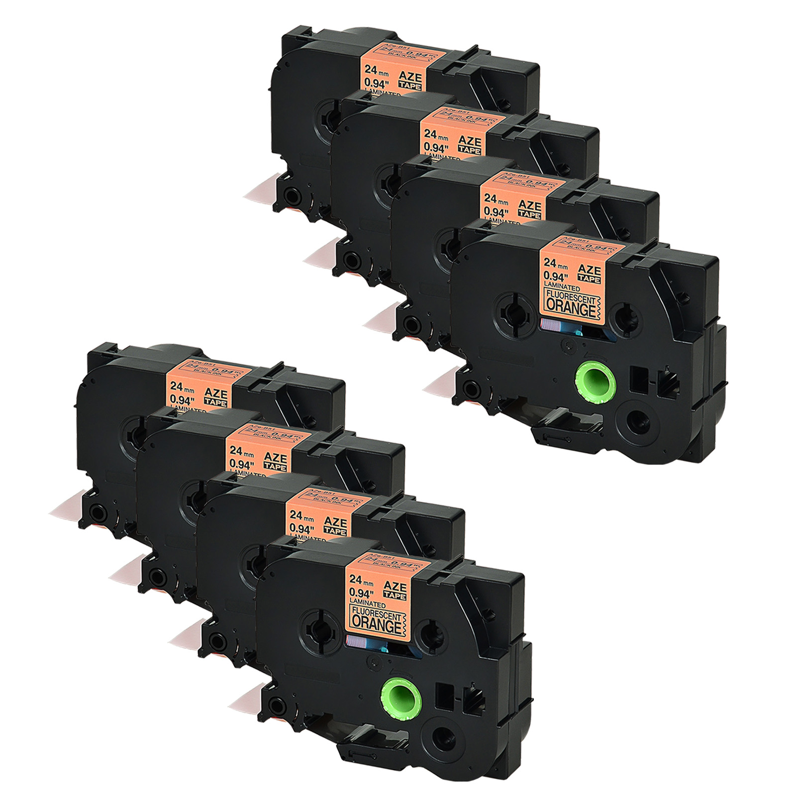 DRUCKER BESCHRIFTUNGSBAND 18mm S-WEIß FL für BROTHER P-Touch 9200 DX